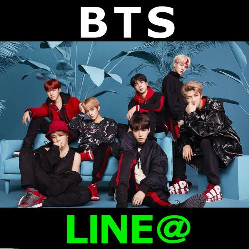 BTS LINE@ 画像