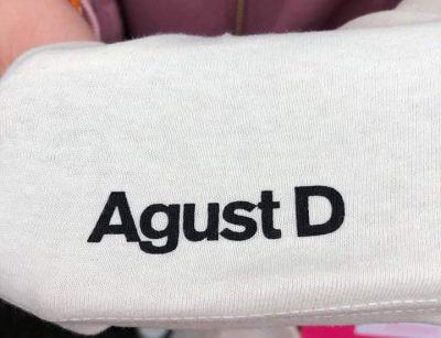 BTS シュガ Tシャツ