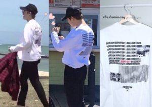 ジミン 原爆 Tシャツ