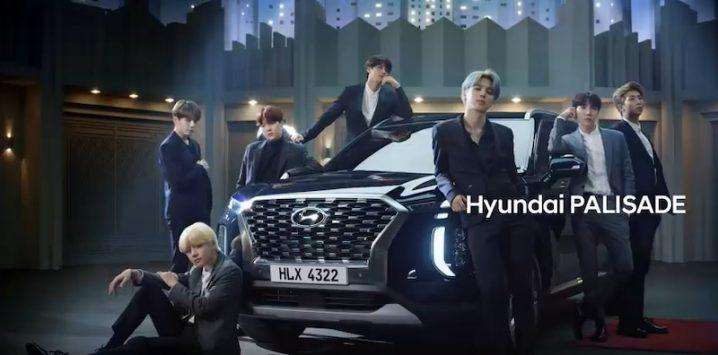 BTS Hyundai PALISADE