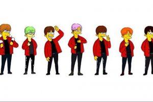 BTS シンプソンズ