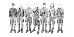 BTS キムジョーンズ デザイン画
