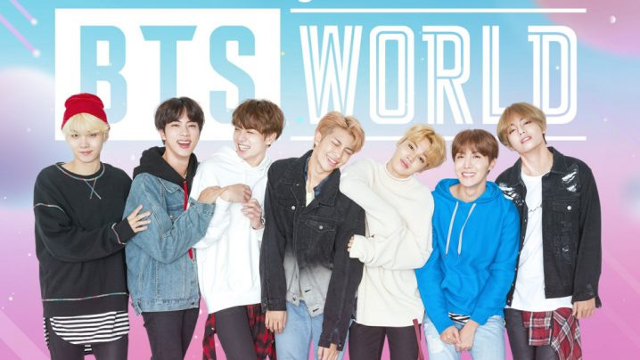 bts world ゲーム