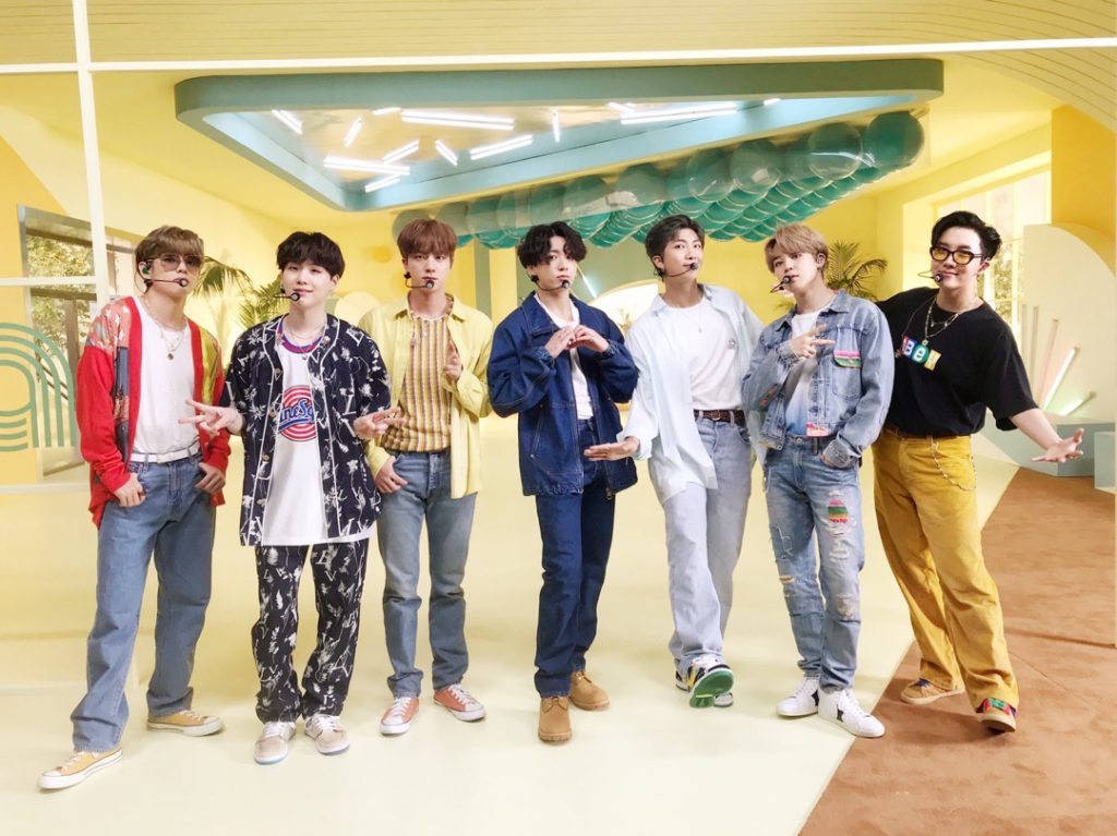 BTS THE MUSIC DAY 2020
