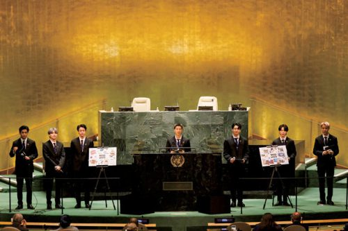 BTS 国連