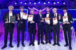 BTS 日本ゴールドディスク賞
