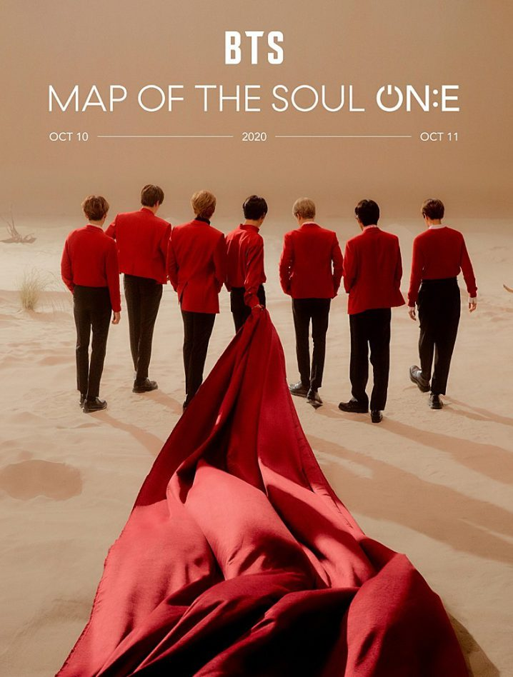 bts map of the soul one